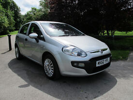 2010 (60) Fiat Punto Evo 1.4 8v Active 5dr - LOW Mls, F/Service history, Ideal 1st Car