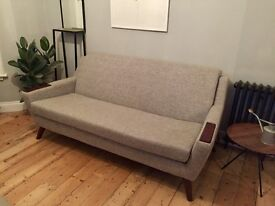 G plan mid century style sofa, brought February 2015 and hardly used.