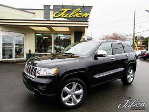 2011 Jeep Grand Cherokee OVERLAND A/C DEUX ZONES CUIR TOIT DÉMAR