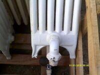 Victorian Reclaimed NRC Freestanding School Column Radiator Cast