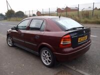 Vauxhall Astra Automatic for Sale, Very low Miles, Alloy wheels, 10 Months MOT.