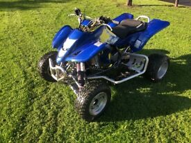 Suzuki LTZ400 + ROAD LEGAL quad bike , blaster TRX