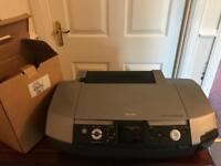 Epson Photo Printer AND box of ink cartridges (worth £50 alone!)