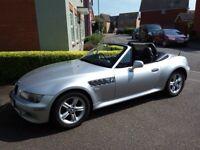BMW Z3, 1.9, Full MOT, Silver