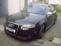 Audi rs4 2006 low tax BAND -high spec hpi clear car BARGAIN!