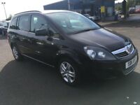 2011 Vauxhall ZAFIRA 1.7 cdti , mot-May 2019 ,only 59,000 miles ,2 owners ,sharan,galaxy,scenic,c4,