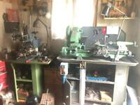 Hobby Lathe & Milling Machinery Wanted Myford, Centec, Tom Senior, BCA, Elliot, tool grinder