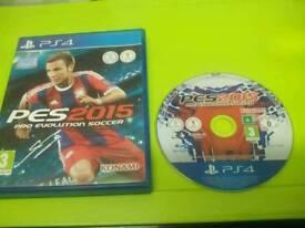 PS4 PES 2015