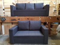 Brand New sofa in a Box grey 3+2 seat (free delivery with in 10mil)