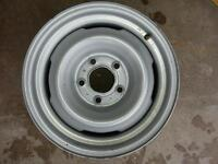 Never Mounted 15x6 4 Slot 5x5 Steel Wheel/Rim x43551