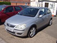 2005 VAUXHALL CORSA 1.4 sri FULL MOT OCT 2017 £895 ONO