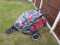 Phil & Teds Inline Double Buggy, Pushchair, Pram