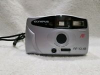 Olympus AF10 XB 35MM film compact rangefinder point and shoot camera 28MM lens lomo lomography