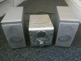 Mini radio CD system