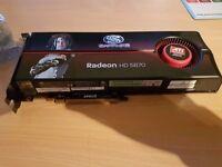video card RADEON HD 5870