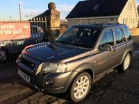 LANDROVER FREELANDER V6 PREM SPORT AUTOMATIC (54) MOT 29/4/18 , WARRANTY £1395