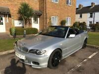 Bmw 330ci m sport convertible 6 speed manual must go quick sale 07713947648