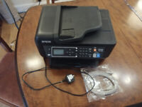 Epson Workforce WF-2750 Printer incl. new 5m USB cable FREE for collection