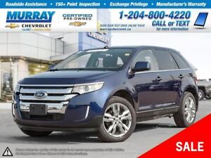 2011 Ford Edge Limited *Rear View Camera, Climate Control*