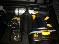 Macallister 18V Cordless Hammer Drill CLM18VHD.