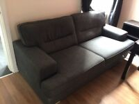 Sofa and chair comfy 2 seater large sofa and single chair perfect for the lounge used chair lounger