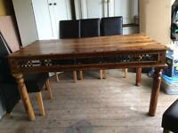 SOLID WOOD TABLE **BARGAIN**
