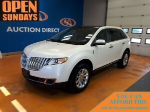 2013 Lincoln MKX LEATHER! 2 SUNROOF'S! NAV READY!