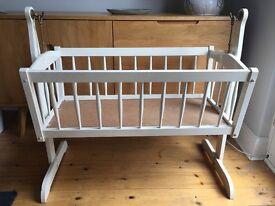 Vintage rocking crib
