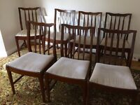 Seven Dining Chairs
