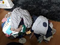 Boys clothes bundle upto a year old