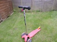 Pink mini micro Scooter £20