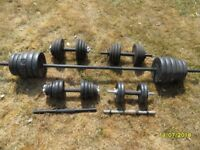 Training weights as per photo