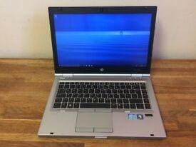 HP EliteBook 8460P laptop Intel 3.2ghz x 4 Core i5 2nd gen processor 500gb hd