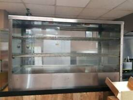 Commercial Glass Hot Food Display