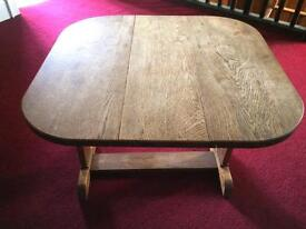 Oak Drop Leaf Side Table (2ft approx)