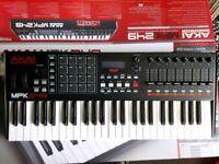 Akai MPK 249 MPK249 Midi Keyboard with assignable pads, faders, knobs & transport controls