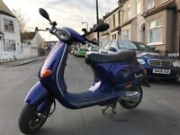 Vespa et2 50cc with new belt and rollers