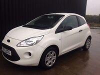 2012 Ford KA 1.2 Studio 3dr (start/stop) 2 Keys Full Service History, Low Tax & Insurance, Full MOT