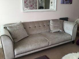 3 n 4 seater settees / sofas