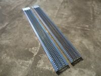 SET OF NEW LOADING RAMPS ( Quad, Ride on Lawnmower, Van, Car Trailer )