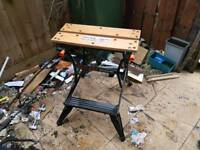 Black and Decker Workbench Foldable with Clamping Action