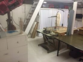 Creative / Design / Fashion / Upholstery Studio Desk Space