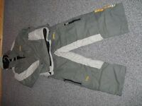 snow wear NO FEAR brand grey colour size 34 chest/30 waist
