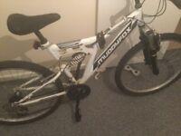 Muddyfox hyper sonic adult mountain bike