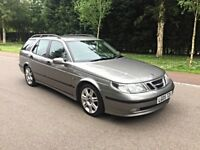 SAAB 9-5 VECTOR ESTATE, AUTOMATIC, FULL SERVICE HISTORY, TOW-BAR.