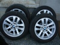 BMW 16 inch rims and Continental run flat tyres