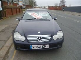 Mercedes C230 K,Sport Coupe,3 previous owners,stunning looking car,runs and drives very well,