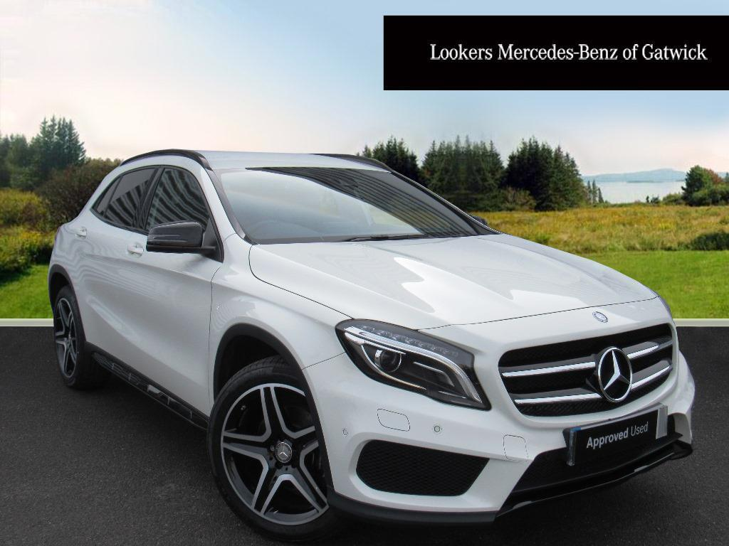 mercedes benz gla class gla 220 d 4matic amg line premium white 2016 01 27 in crawley west. Black Bedroom Furniture Sets. Home Design Ideas