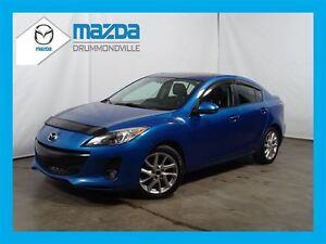 2012 Mazda MAZDA3 GT +  CUIR +  BLUETOOTH +  TOIT
