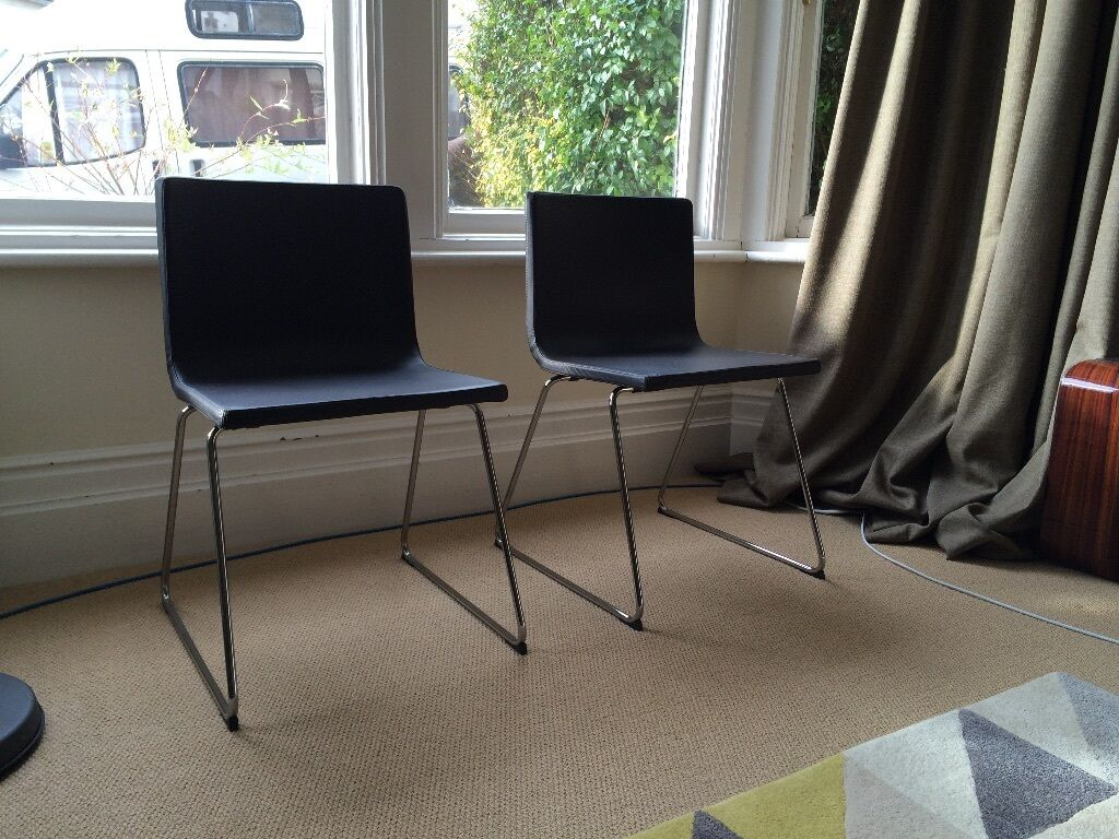 Two Ikea Bernhard Chairs Less Than Half Price In